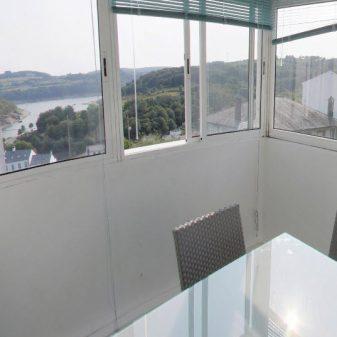Terraza con vistas apartamentos